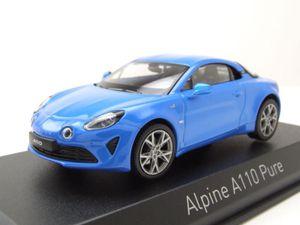 Norev 517866 Alpine A110 Pure blau Maßstab 1:43