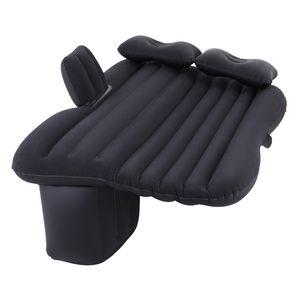 Crenex  Aufblasbare Matratze Luftbett Luftmatratze für Auto Rücksitz mit Elektropumpe