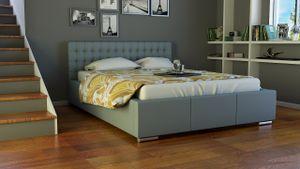 Polsterbett Bett Doppelbett DAMASO 180x200cm inkl.Bettkasten
