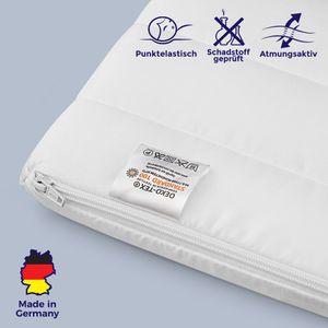 Topper aus Kaltschaum 200x200 Orthopädische & für Allergiker geeignete Matratzenauflage