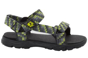 Jack Wolfskin Kinder Trekking-Sandale SEVEN SEAS 2 SANDAL B green lime, Größe:29