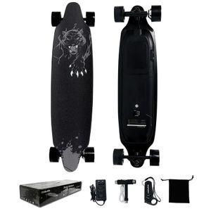 GEEKME Elektro Longboard E Skateboard Elektrisches City Scooter vierrädrig LG Lithiumbatterie