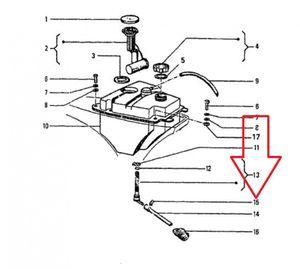 Vespa Schlauchbinder für historische Modelle