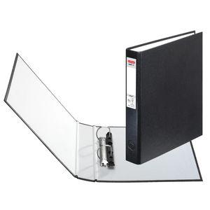 10x Herlitz Ringbuch / DIN A5 mit 2-Ringe / Farbe: schwarz