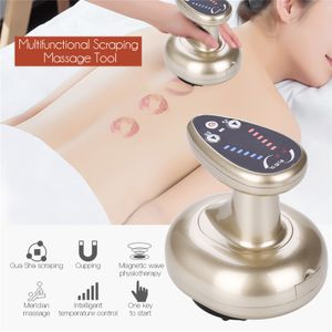 LOZAYI Rückenmassagegerät, Elektronische Schröpfmaschine, Unterdruckmassagegerät Vibrationsbehandlung Handmassagegerät Vakuumsauger Entgiftung