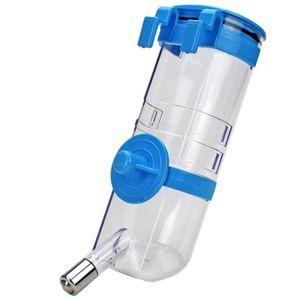 500 ml Hundekäfig hängen Typ Pet Waterer Ball Hundetrinkflasche Katzenfutterautomat - Blau
