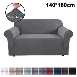 Elastischer Sofabezug 2 Sitzer, Sofa-Überwürfe Sofahusse Couchhusse Spannbezug für Sofa
