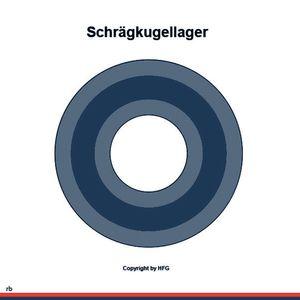 FAG Schrägkugellager 3207-BD-XL-2Z-TVH
