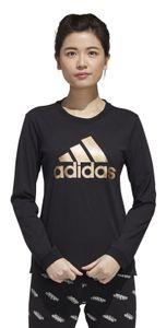 adidas Damen-Sport-Fitness-Langarmshirt Women U-4-U Long sleeve T-shirt schwarz, Größe:S