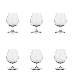 Leonardo Ciao+ Cognacschwenker 6er Cognacglas Schwenker Brandy Glas Stoßfest