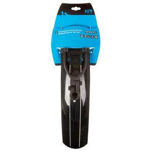 M-Wave Mud Max FAT QR Fatbike Schutzblech Fahrrad Schutzbleche Set 26-29 Zoll Spritzschutz für Fatbikes Schmutzfänger, Ausführung:hinten