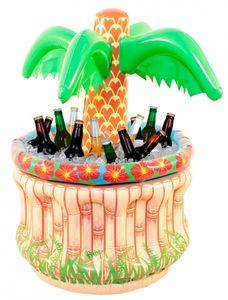 Aufblasbarer Palmen Kühler für Flaschen 62cm Party Strand