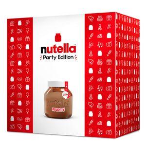 Nutella Party Edition Sondergröße Nutella im Riesenglas 3000g