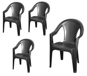 4er Set - Garden Chair Ischia - 042980260 - 4 Stück