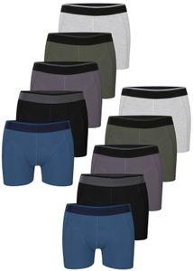 10 Herren Boxershorts aus Baumwolle - XXXL