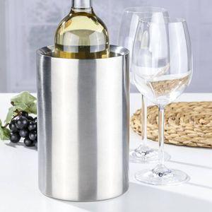 Edelstahl Weinkühler Flaschenkühler Sektkühler 34104