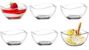 Snackschüssel Glasschälchen Müslischüssel 6 Teilig Eisschüssel Dessertschüsseln Chipsschüssel
