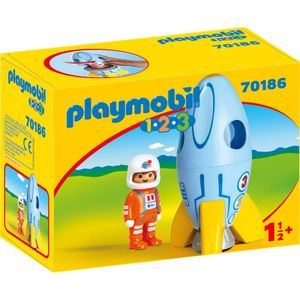 PLAYMOBIL Astronaut mit Rakete, 70186