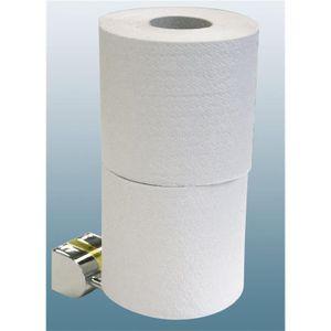 Toilettenpapier Halter WC Klorollen Reserve doppelt Tiger Cria Chrom glänzend