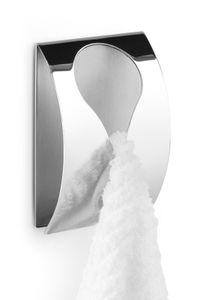 ZACK Edelstahl Handtuchklemme Handtuchhalter GENIO selbstklebend poliert 40073