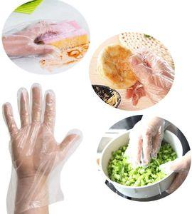 500x Transparente Einweghandschuhe Folienhandschuhe für Küche Restaurant Kochen