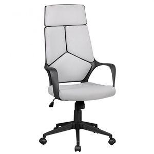 Bürostuhl TECHLINE Stoffbezug Hellgrau Schreibtischstuhl