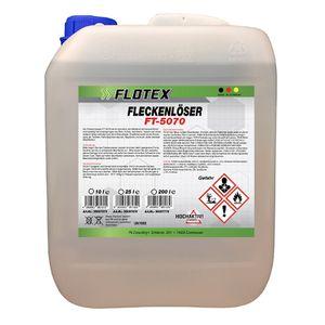 Flotex Fleckenlöser, 10L Fleckentferner Fleckenwasser Fleckenentferner Textilreiniger