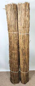 10 Meter (2x5) Schilfrohrzaun, Sichtschutzmatte, Schilfrohrmatte Savanne, 2 x 500 cm H 150 cm