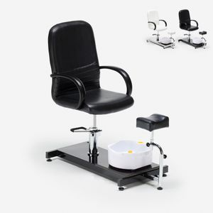 Fußpflegestuhl und Fußmassage Idro PulpFarbe: Schwarz