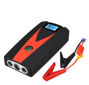 99900mAh Auto Jump Starter Digital LED Auto Starthilfe Booster USB mit Kabel