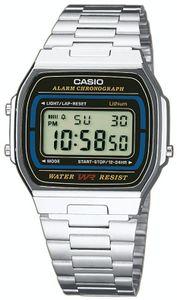 Casio A164WA-1VES Digital Alarm-Chronograph