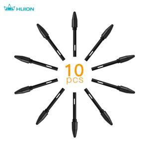 Huion PN05 10 Stück Ersatzspitzen Stiftspitzen Kompatibel mit PW500 / PW507 Grafikzeichnungstablett Stylus Schwarz