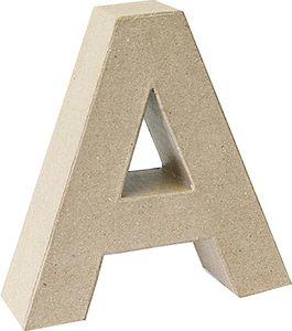 "KNORR prandell 3D-Buchstabe ""A"" Pappmaché 175 x 55 mm"