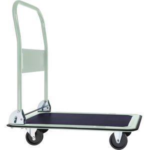 tectake Plattformwagen klappbar bis 150kg - weiß