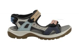 Ecco Offroad 8220835574, Damensandale, Trekking, Multicolor, Mat.-mix, NEU - Outdoor Outdoor Damen, Mehrfarbig, leder/textil (nubuk)