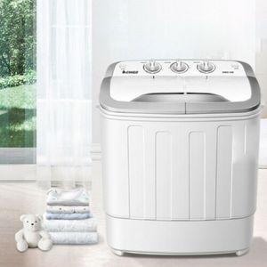 2in1 Mini Waschmaschine Miniwaschmaschine&Schleuder Camping Trockner Waschautomat 3.6kg