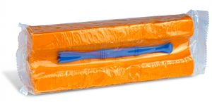 Plastilin Knete im Block, Spiel-knete 550 g, in versch. Farben, Farbe:schwarz 800