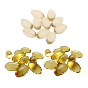 Vitamin-E-Öl-Kapseln für das Gesicht
