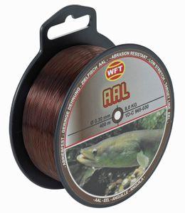 WFT Zielfisch Aal 400m 0,30mm 8kg braun - Aalschnur