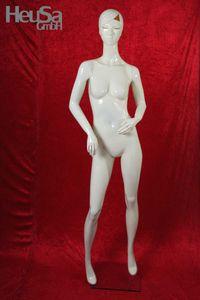 Schaufensterpuppe weiß weiblich