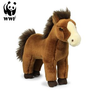 Plüschtier Wildpferd (23cm, rotbraun) lebensecht Kuscheltier Stofftier Pferd