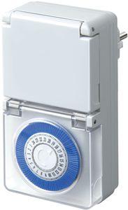 Brennenstuhl Mechanische Zeitschaltuhr für den Aussenbereich geeignet MMZ 44 IP 44; 1506170