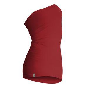 Kidneykaren Mid- Tube Multifunktion Schlauch als Nierenwärmer, Unterkleid, Top und Rock Brick Red (rot), Größe:XL