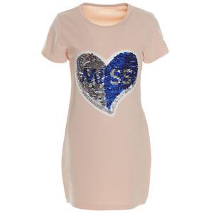 BEZLIT Mädchen Long-Shirt Tunika Rosa 158
