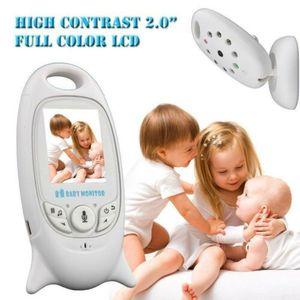 """Drahtlos Babyphone mit Kamera Wireless Smart Baby Monitor Video Überwachung Nachtsicht Babypflege, 2"""" Digital LCD Bildschirm"""