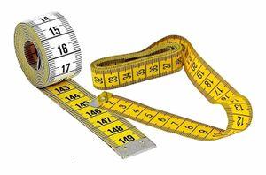 5x Maßband Umfangsmessband Meterstab Metermaß Meterband 150 cm