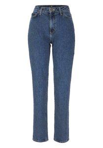 Lee Damen Marken-High-Waist-Jeans, blau, Größe:26