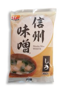 350g Shiro Miso, helle japanische Miso-Paste Hanamaruki Misopaste für Misosuppe Sojabohnenpaste Miso-Suppenpaste, japanische Lebensmittel