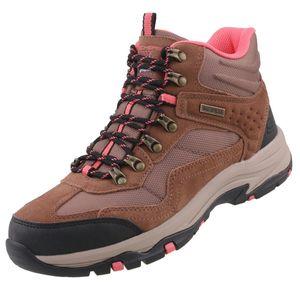 Skechers Damen Outdoor Stiefel Trego Base Camp Braun Waterproof, Schuhgröße:EUR 40