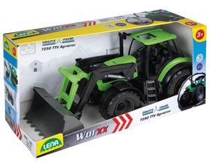 LENA Worxx Deutz-Traktor Fahr Agrotron 7250 TTV im Maßstab 1:15, für Kinder